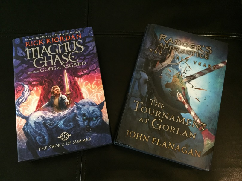 Magnus Chase Rick Riordan and Tournament at Gorlan John Flanagan