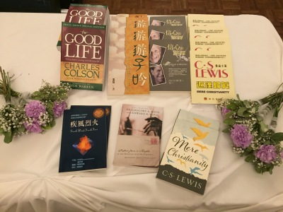 wedding favors - books