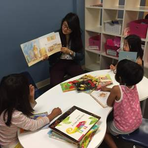 small group read aloud