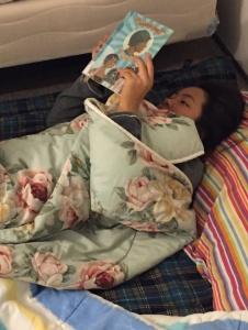 reading sleepover