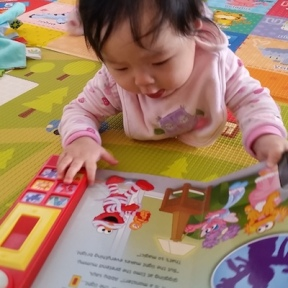 1) It's never too early to start reading!